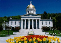 Photo of the Montpelier, VT Statehouse