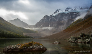 Photo of lake in Banff National Park