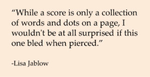 Quote re Bled left