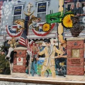 Maple, Murals, Sugarhouses, and Sculptures