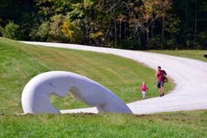 West Rutland's Art Park. Photo by Clyde Yee.