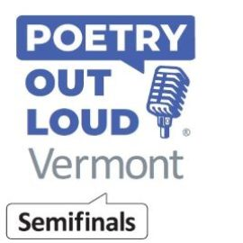 Vermont Poetry Out Loud 2020 Semifinals