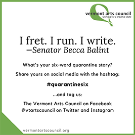 Six-Word Quarantine Stories from the Creative Sector Forum