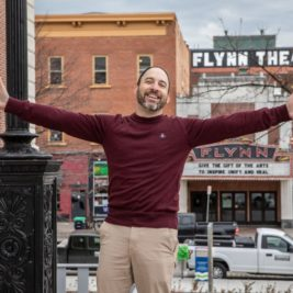 Jay Wahl, executive director of the Flynn.