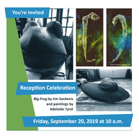 Reception Celebration: Permanent Sculpture Installation and Exhibition of Paintings