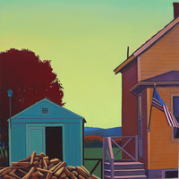 'Home Ground' paintings by Susan Abbott