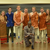 Middlebury African Music and Dance Ensemble Middlebury and Afropop Band