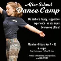After School Dance Camp at Pentangle Arts