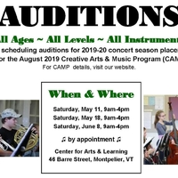 Green Mountain Youth Symphony Audition Day