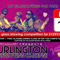 Burlington Glassblowing Challenge: Valentine's Day Edition