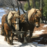 For the Love of Vermont - Paintings by Carolyn Egeli