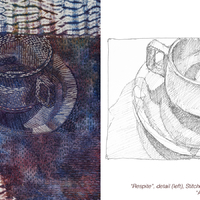 Drawing Threads: Conversation Between Line and Stitch