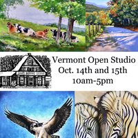 Vermont Open Studio tour at Claire Payne Studios