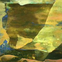 """""""New Paintings"""" Unknown Time & Place"""" work by Gail Salzman"""
