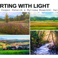 """ Flirting with Light "" Landscapes in Oil"