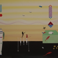 Monkeys, Missiles and Mushrooms, Paintings by Marina Epstein