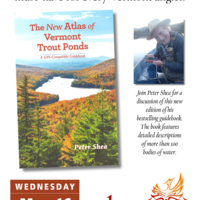 Book talk on The New Atlas of Vermont Trout Ponds