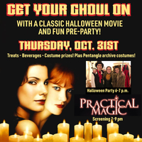 Practical Magic Movie & Costume Party at Pentangle Arts