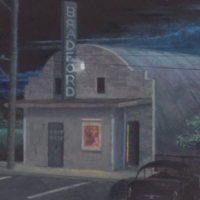 Paintings of Local Structures by Tom Hall