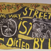 Bread and Puppet Theatre -The Bad Bedsheet Existibility Show Part 1 at TW Wood Gallery