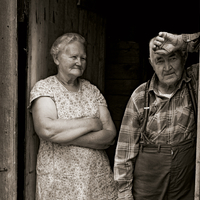 The LAST of the HILL FARMS: Photographs by Richard Brown