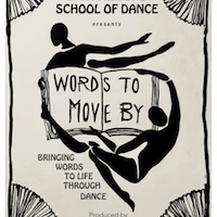 """Brattleboro School of Dance Presents 41st Annual Spring Show: """"Words to Move By"""""""