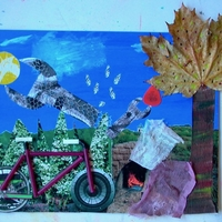 "Southern Vermont Arts Center Online ""Adventures in Mixed Media"" for Grades 2 - 6"