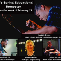 Vermont Jazz Center Spring Classes 2021