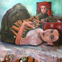 Recent Paintings by Damariscotta Rouelle