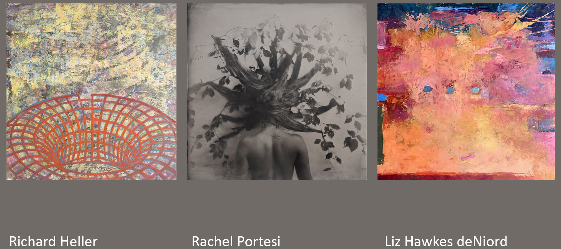 Richard Heller, Rachel Portesi, Liz Hawkes deNiord