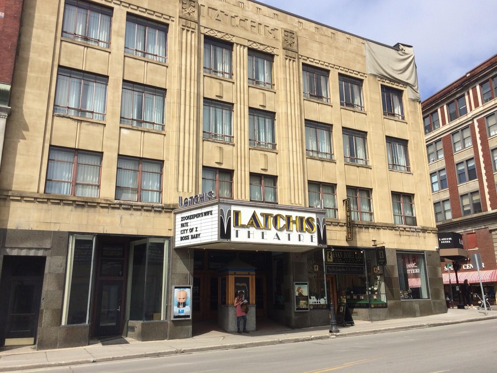The Latchis Hotel & Theatre in Brattleboro.
