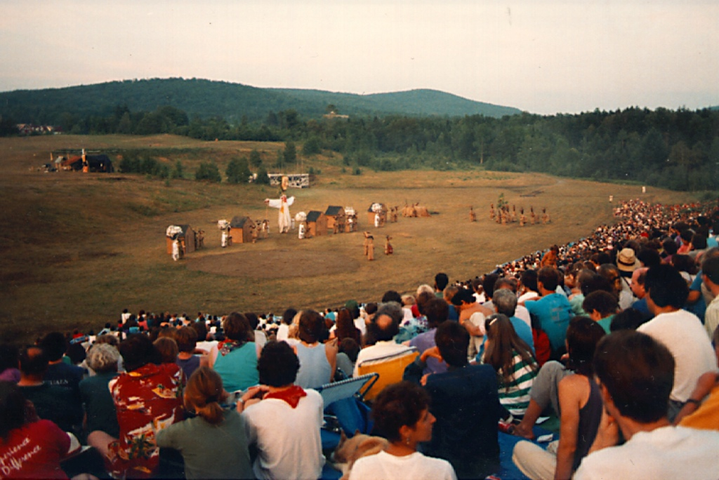 A Bread and Puppet show in 1989