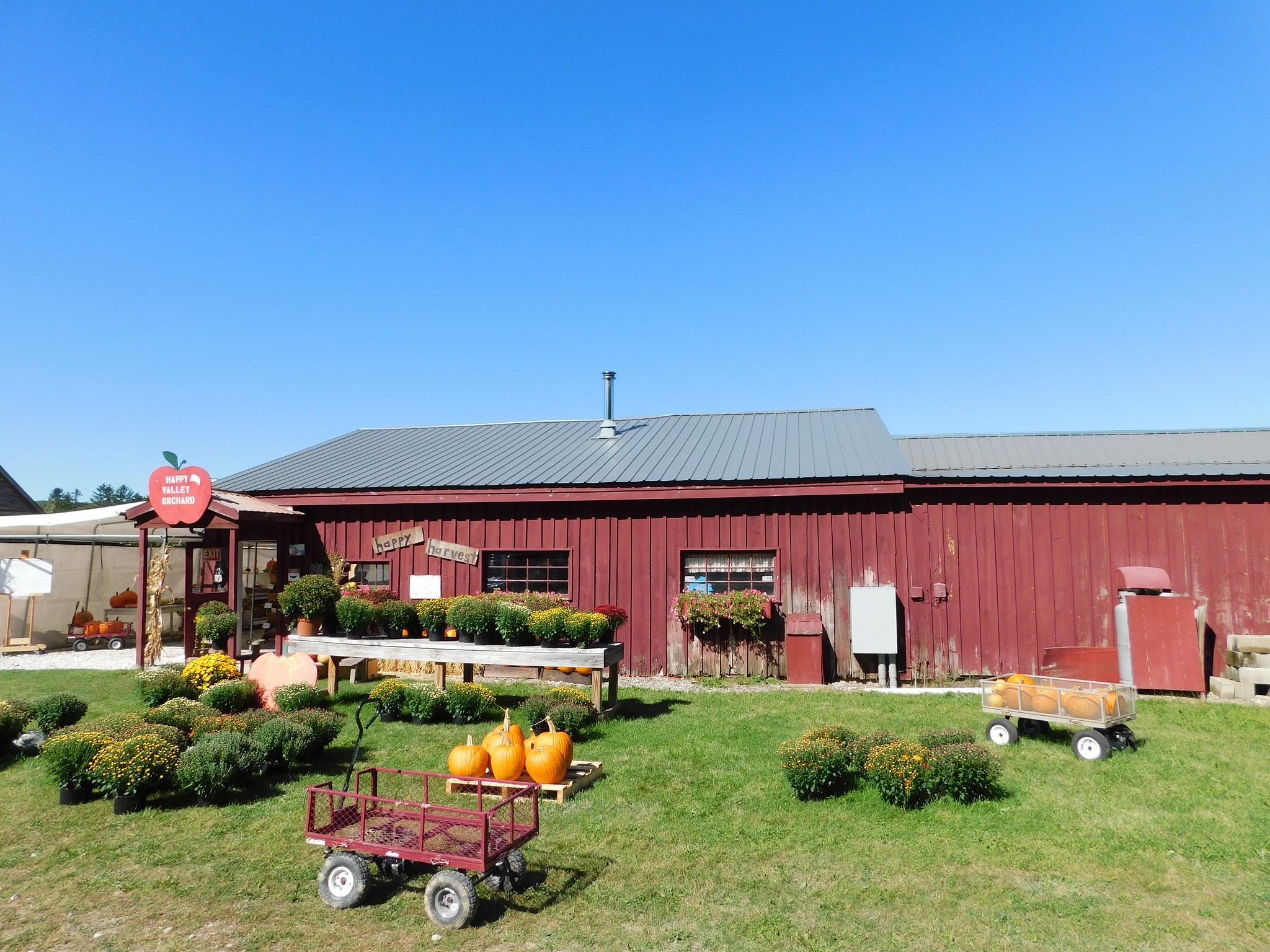 Happy Valley Orchard in Middlebury.