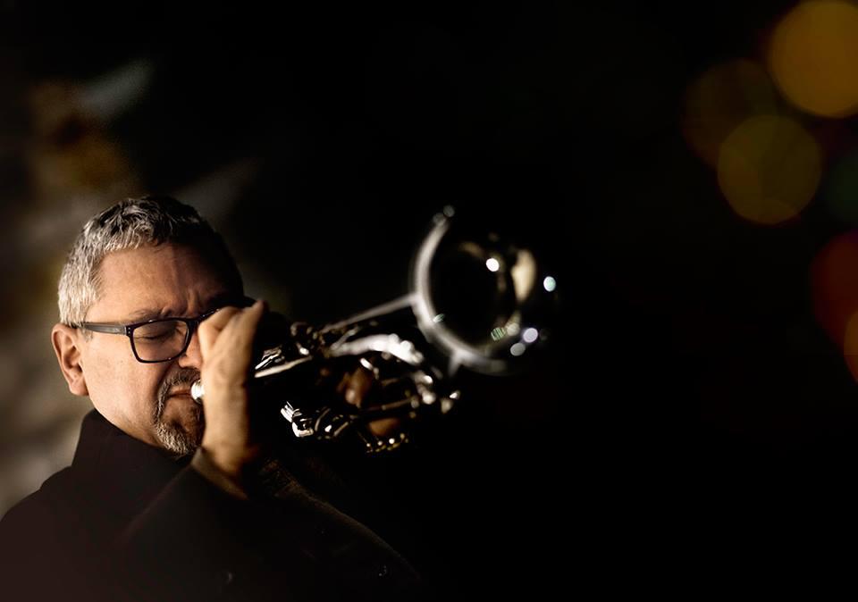 Ray Vega performing on trumpet
