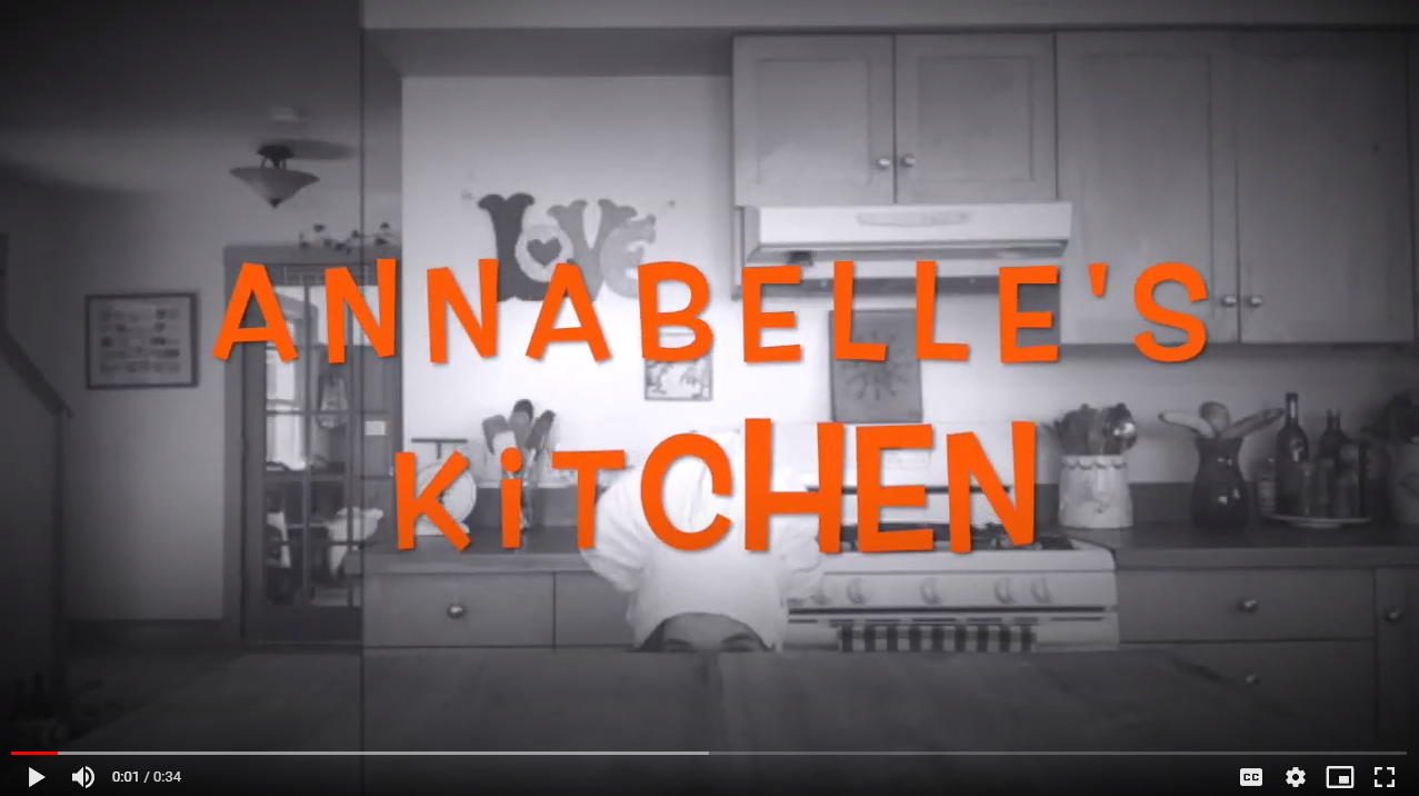 A screenshot from Nettie Lu Lane's trailer for Annabelle's Kitchen