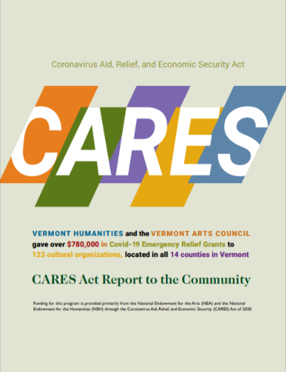 The CARES Act Report Cover
