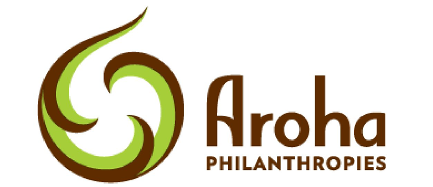 Aroha Philanthropies logo